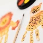 Creatividad de manos y pies para todas las edades