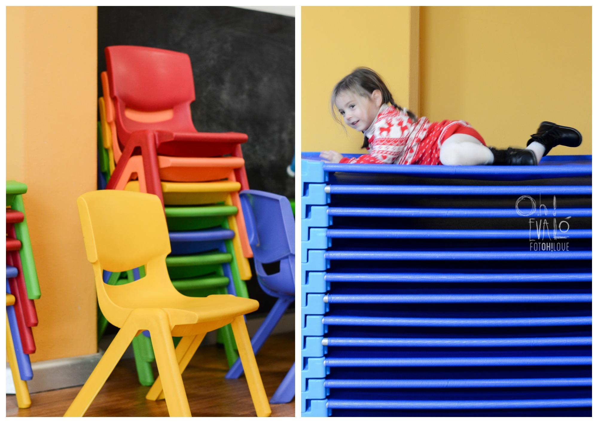 camas y sillas