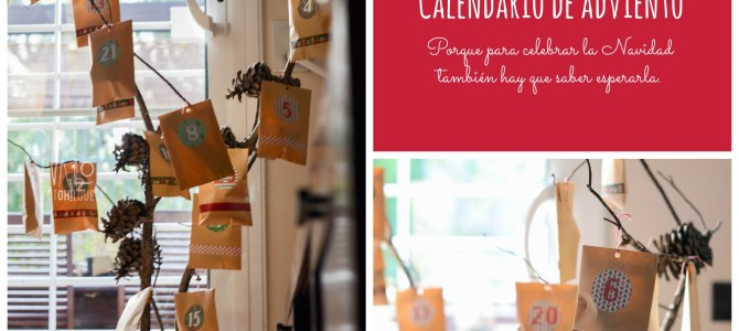 Calendario de Adviento. ¡Planta un árbol!