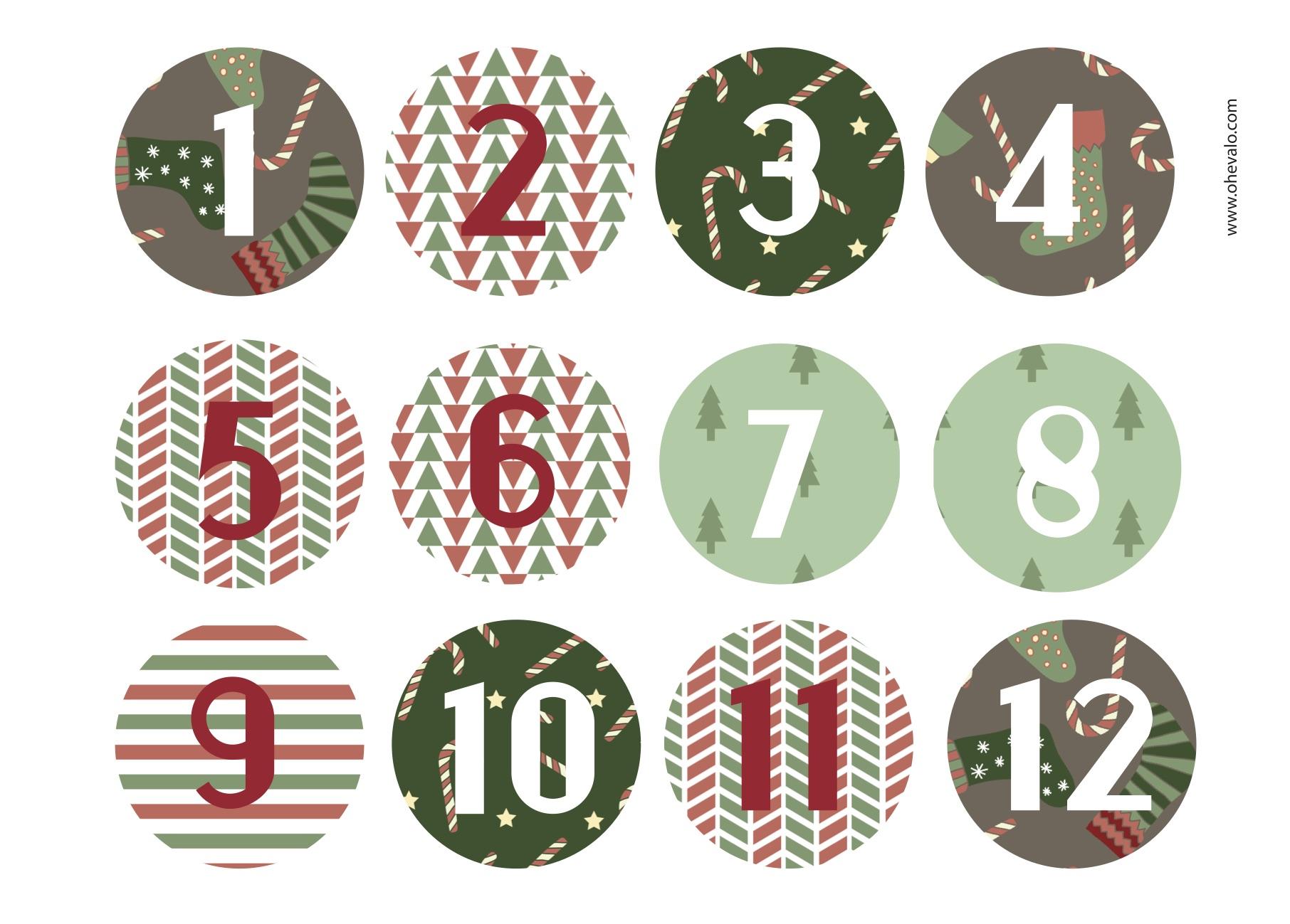 Calendario de adviento planta un rbol - Que poner en un calendario de adviento ...